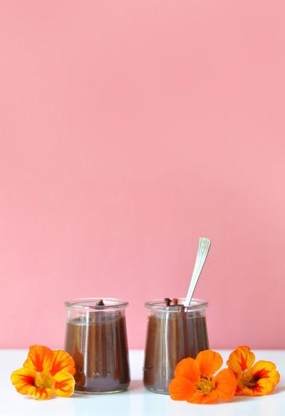 J'ai englouti un sacré paquet de Danette au chocolat quand j'étais petite, pas vous ? Je vous propose de retrouver le goût de ces petits pots de crème en version healthy (vegan, sans gluten) avec cette recette ultra régressive de crème dessert au chocolat !