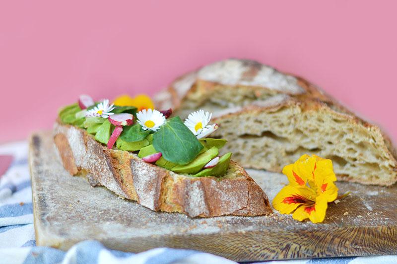 """Quand on ramène du pain de Cucugnan, la soirée tartines est obligatoire ! Rien de tel qu'un avocado toast pour savourer ce """"pain santé"""" exceptionnel !"""