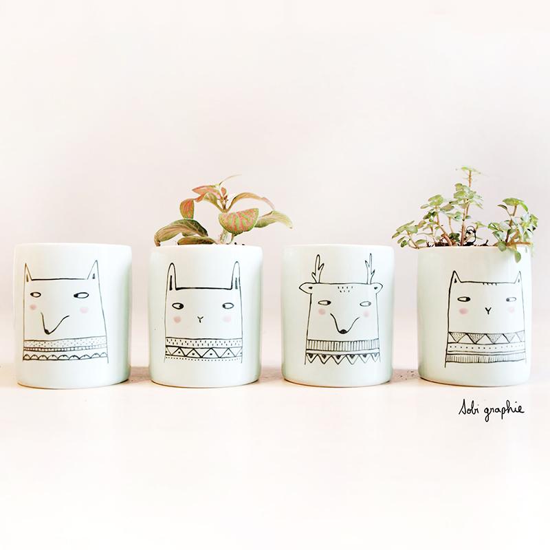 Sobigraphie - Porcelaine illustrée