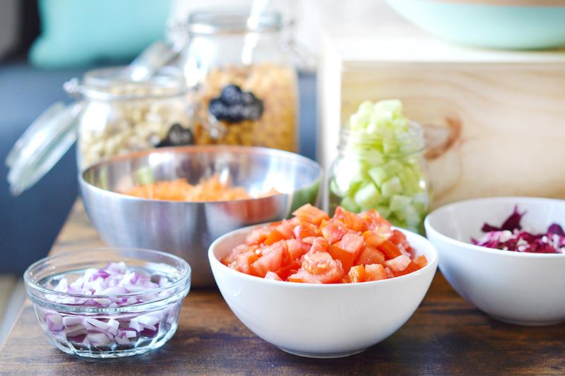 Bar salade vegan comment recevoir et plaire tout le - Cuisiner le bar ...