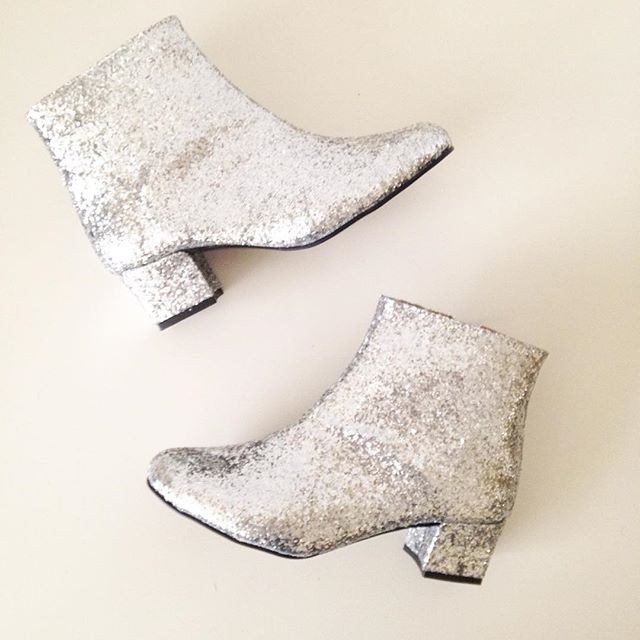 sweet-and-sour-golden-ponies-vegan-shoes-glitter-boots-1