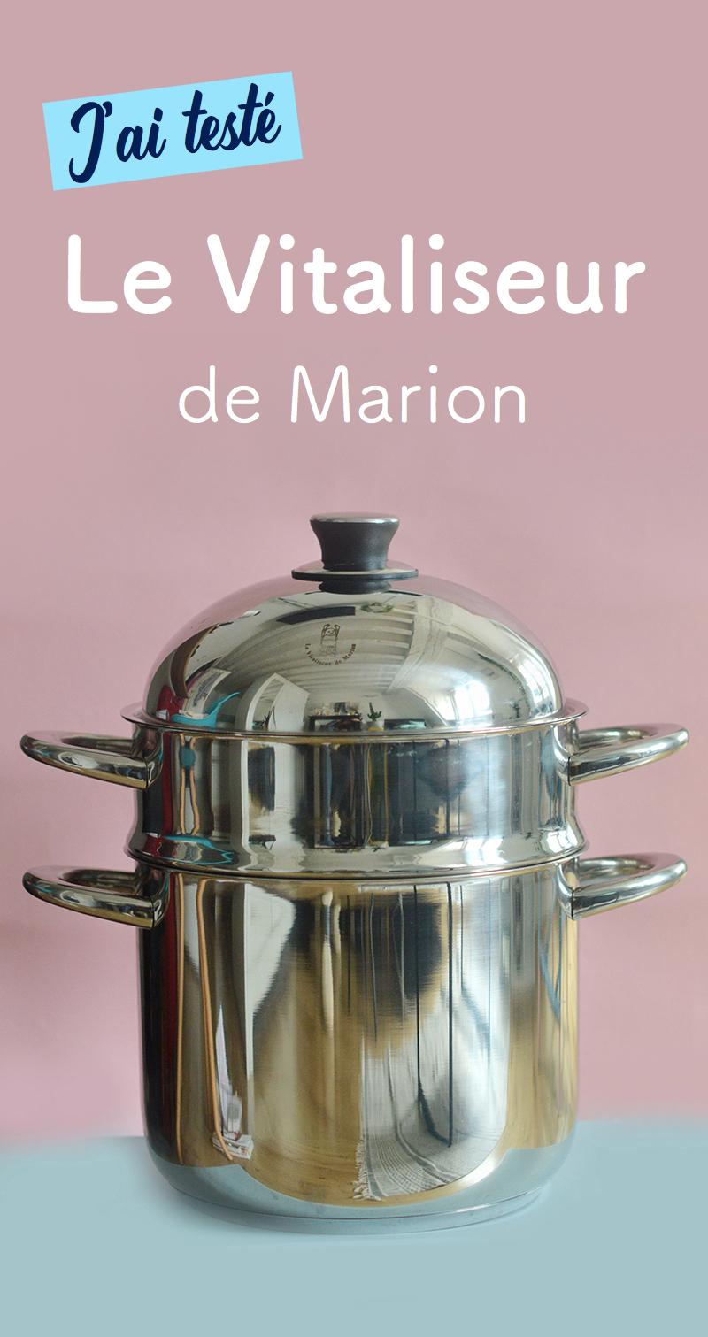 Un petit nouveau fait son apparition dans ma cuisine : le Vitaliseur de Marion ! Après plusieurs tests, je vous dit tout sur le Vitaliseur et la cuisson à la vapeur douce !
