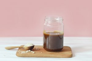 Caramel salé vegan (avec 3 ingrédients et sans sucre raffiné !)