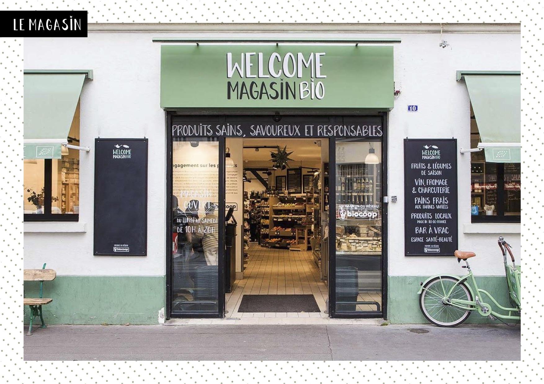 A 2 pas de la place de la Bastille, rdv dans un lieu dédié à l'art de vivre éthique et slow dans toute sa diversité : Welcome Bio.