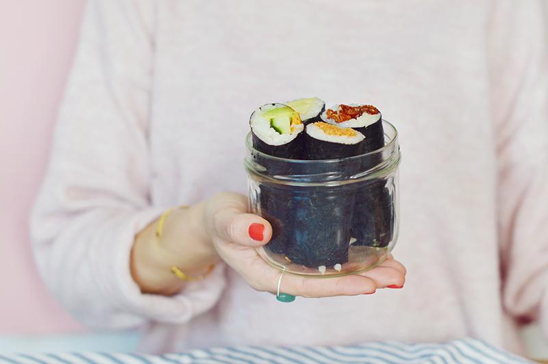 sushi rolls vegan faciles manger et emporter sweet sour healthy happy living. Black Bedroom Furniture Sets. Home Design Ideas