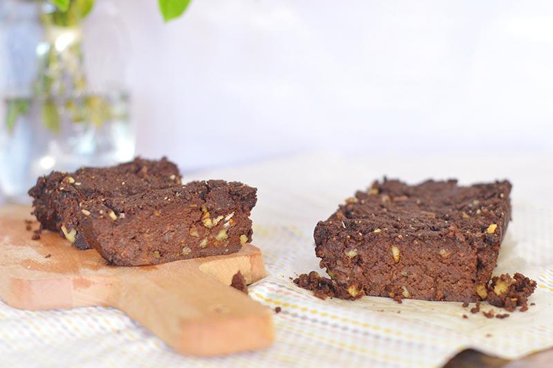 Gâteau patate douce / chocolat (vegan, sans gluten)