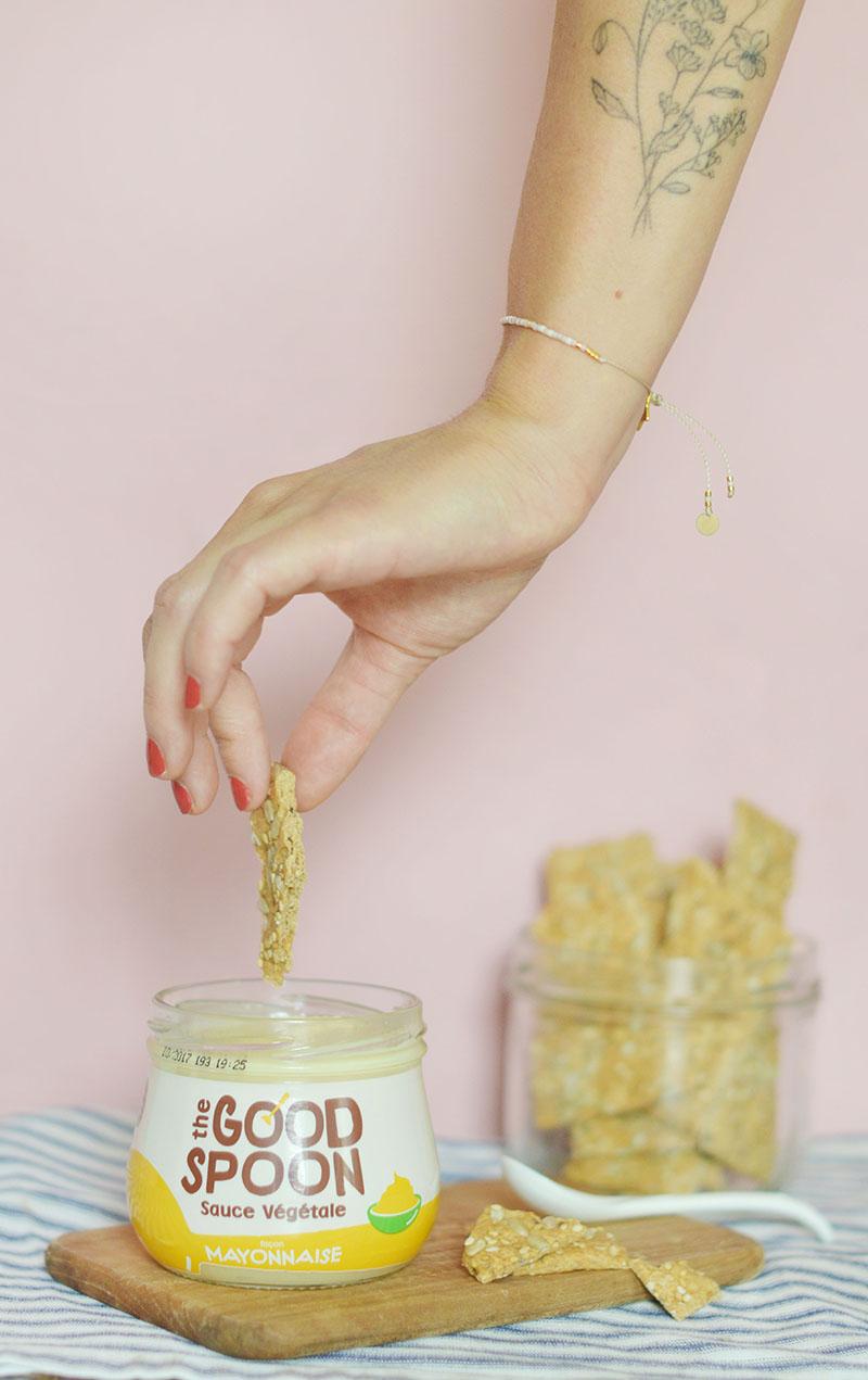 #tukiffesoupas = ma rubrique favoris et découvertes ! J'y glisse les trucs vegan / bio / green / éthiques qui me font kiffer : gourmandise, mode, beauté, bijoux, événements … No limit baby ! // // The Good Spoon - super mayonnaise vegan dispo chez Mon Epicerie Paris