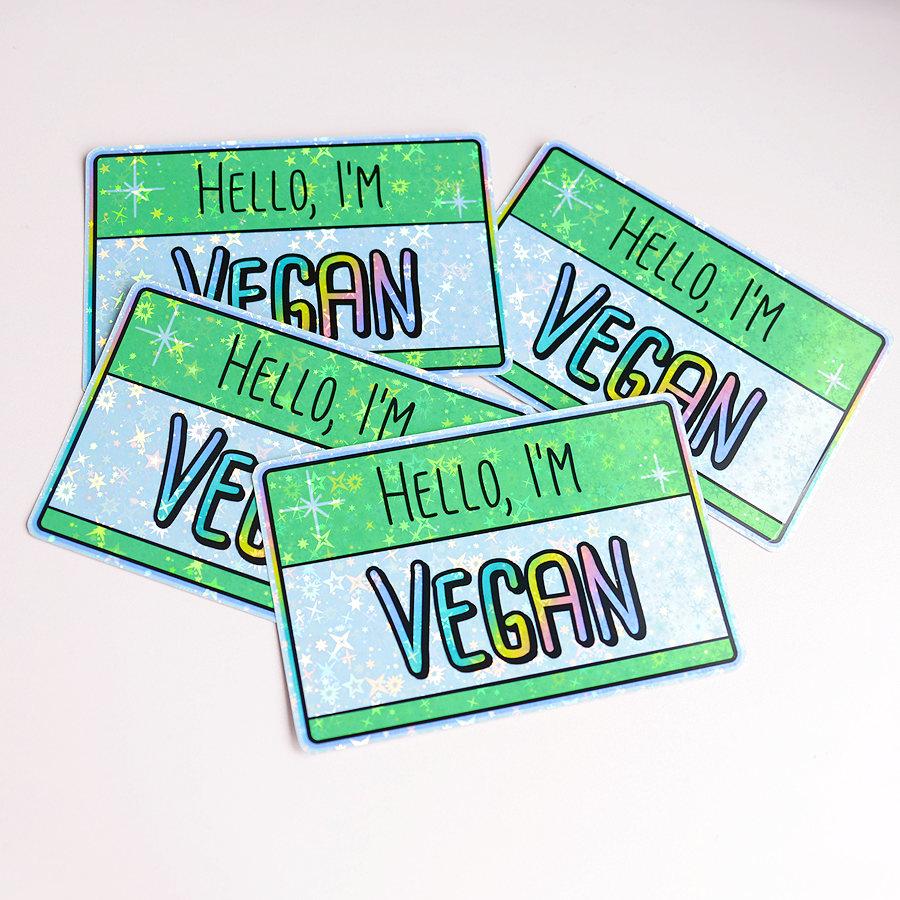 J'adore flâner sur Etsy à la recherche de goodies vegan rigolos ! Voici mes dernières trouvailles !