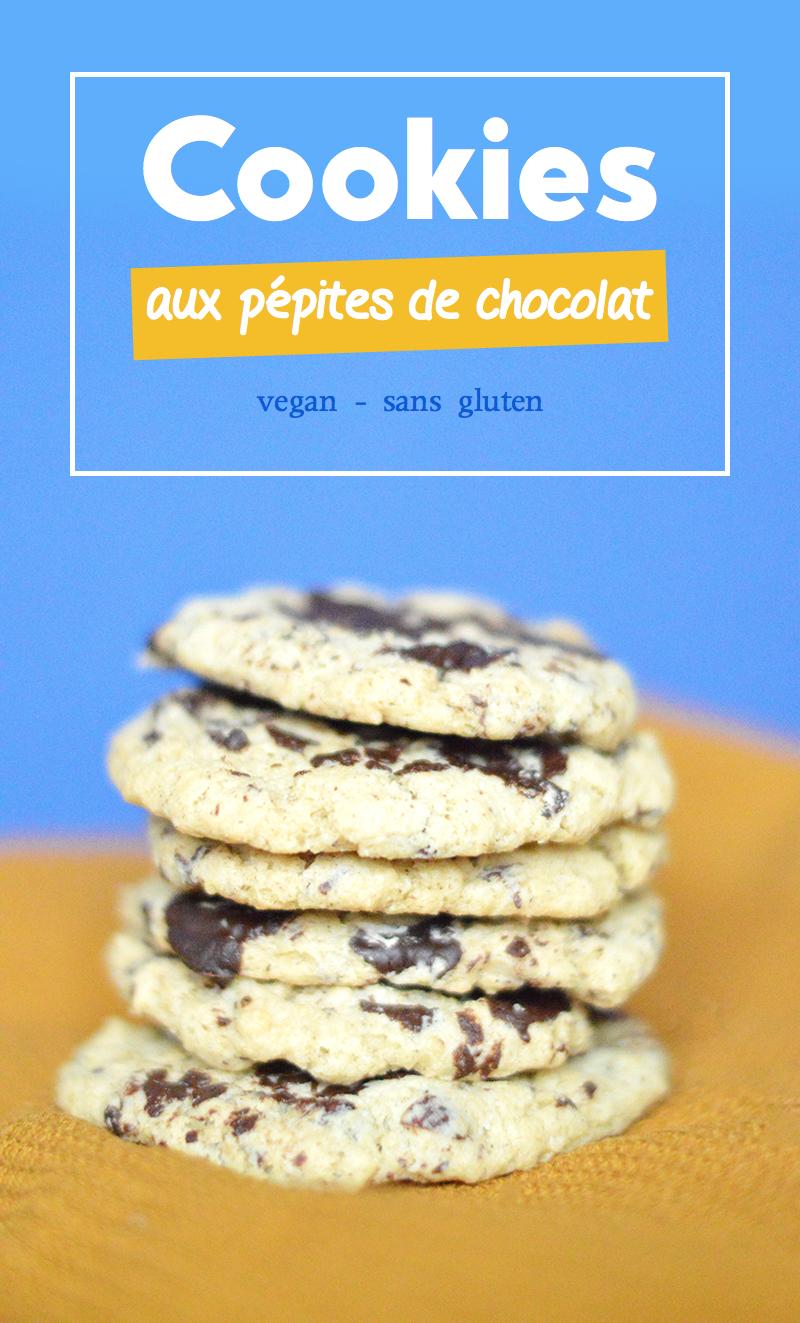 Il y a plein de manière de faire des cookies vegan ! Voici ma version de cookies vegan avec une margarine végétale sans huile de palme !