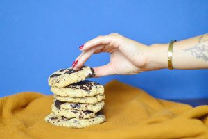 Cookies aux pépites de chocolat (vegan, sans gluten)