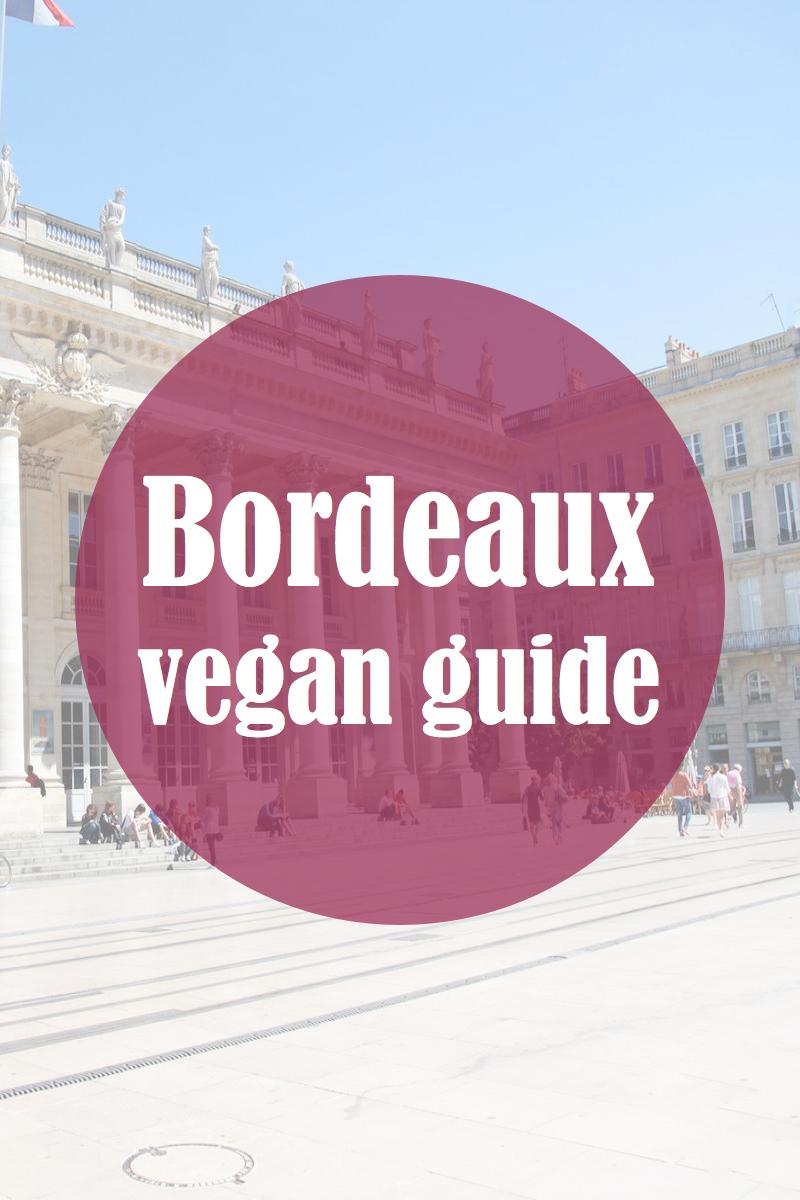 Bordeaux est en train de devenir de plus en plus vegan-friendly et cela réserve bien des surprises côté bonnes adresses ! Si vous allez passer un week-end à Bordeaux, voici quelques endroits vegan à découvrir !