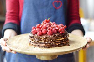 Le gâteau de crêpes chocolat-avocat d'Emilie (C'est si Bon Nutrition)