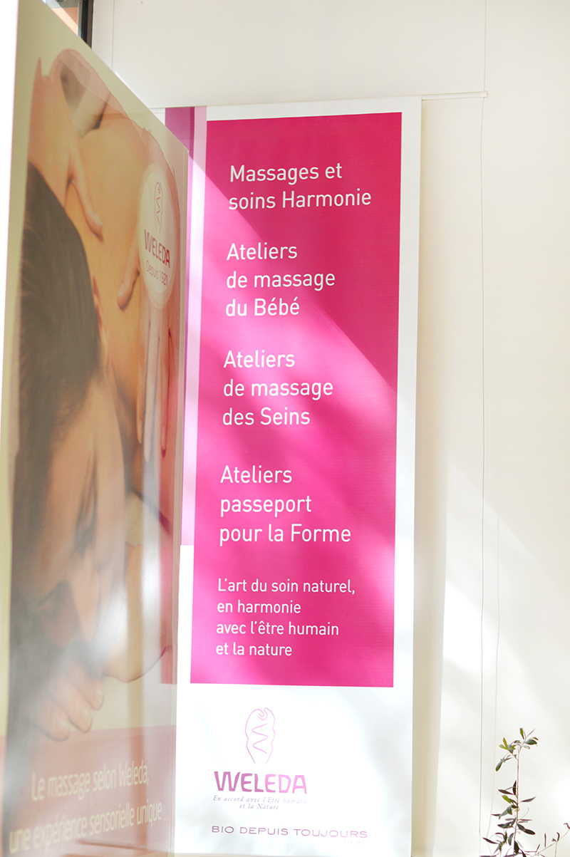 """J'ai testé le nouveau massage signature à l'Espace Weleda à Paris : j'ai choisi le protocole """"calme intérieur"""" pour favoriser l'ancrage et l'apaisement avec l'huile de lavande !"""