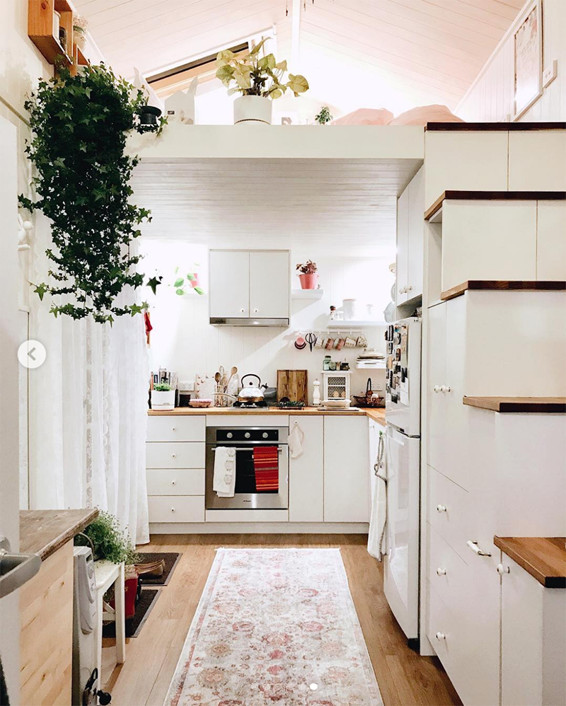 Aménagement Mezzanine Petit Espace inspiration : tiny house et petits espaces - sweet & sour
