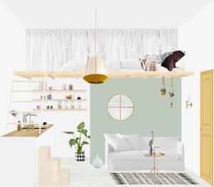 Je rénove mon studio de 14m2 : travaux, matériaux, écologie …