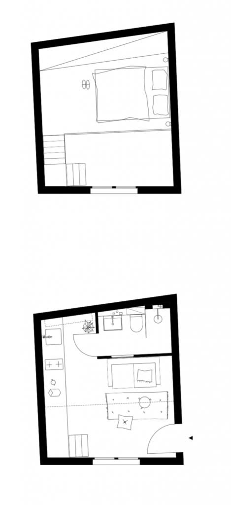 Voici le résultat de la rénovation de mon appartement de 14m2 avec Heju Studio : travaux, matériaux, écologie ...