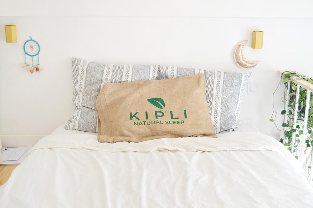 Literie écologique avec Kipli (matelas + oreillers)
