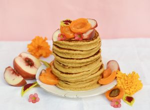 Pancakes vegan super fluffy