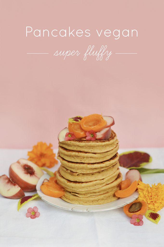 Pancakes vegan ultra fluffy