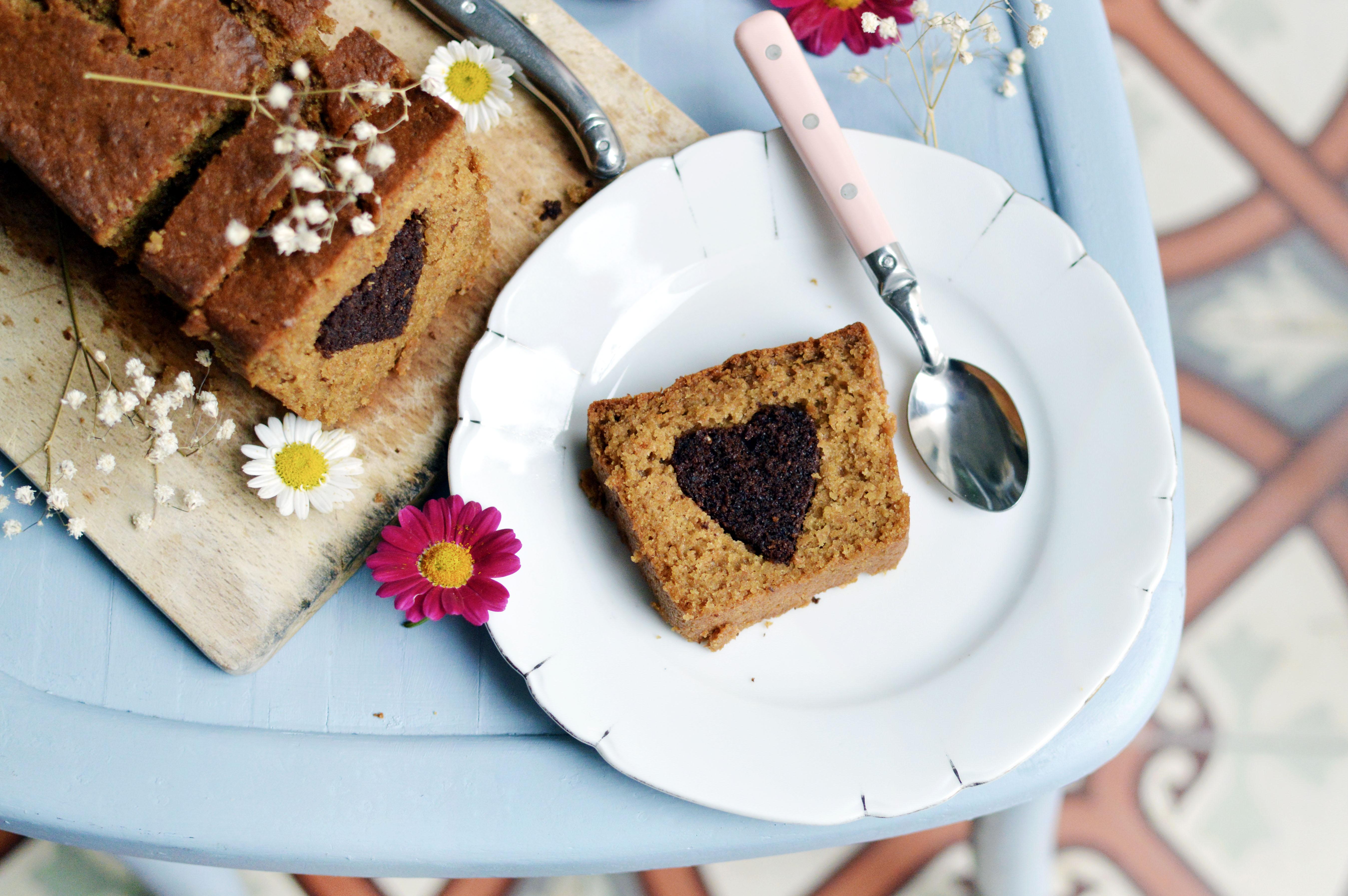 Heart cake vegan : faire un coeur dans un cake