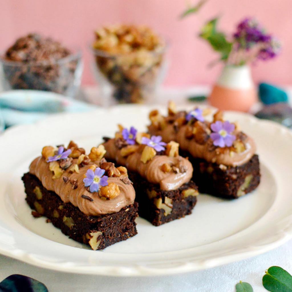 Guide pratique de pâtisserie sans gluten (et vegan) : brownie et mousse au chocolat