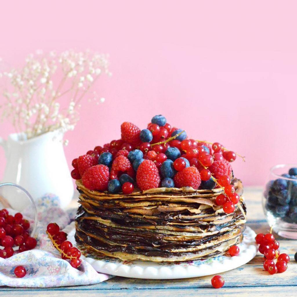 Guide pratique de pâtisserie sans gluten (et vegan) : gâteau de crêpes