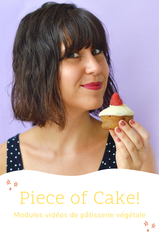 Piece of Cake : formation en ligne de pâtisserie végétale