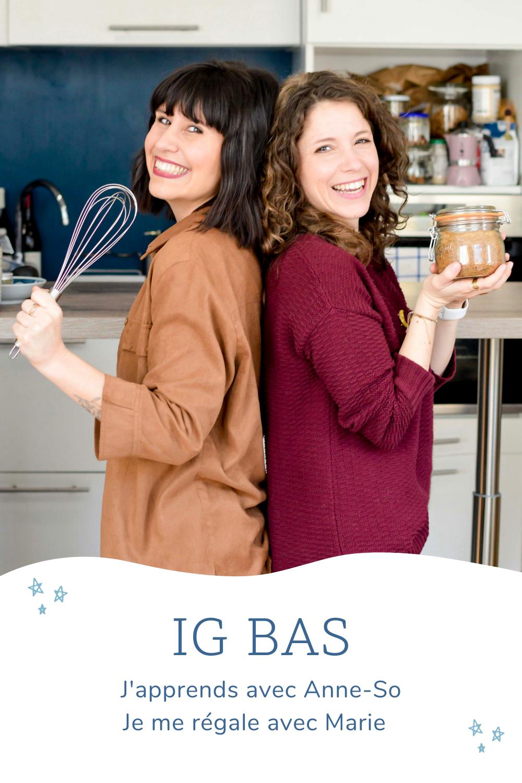 Desserts vegan IG bas avec Anne Sophie Pasquet